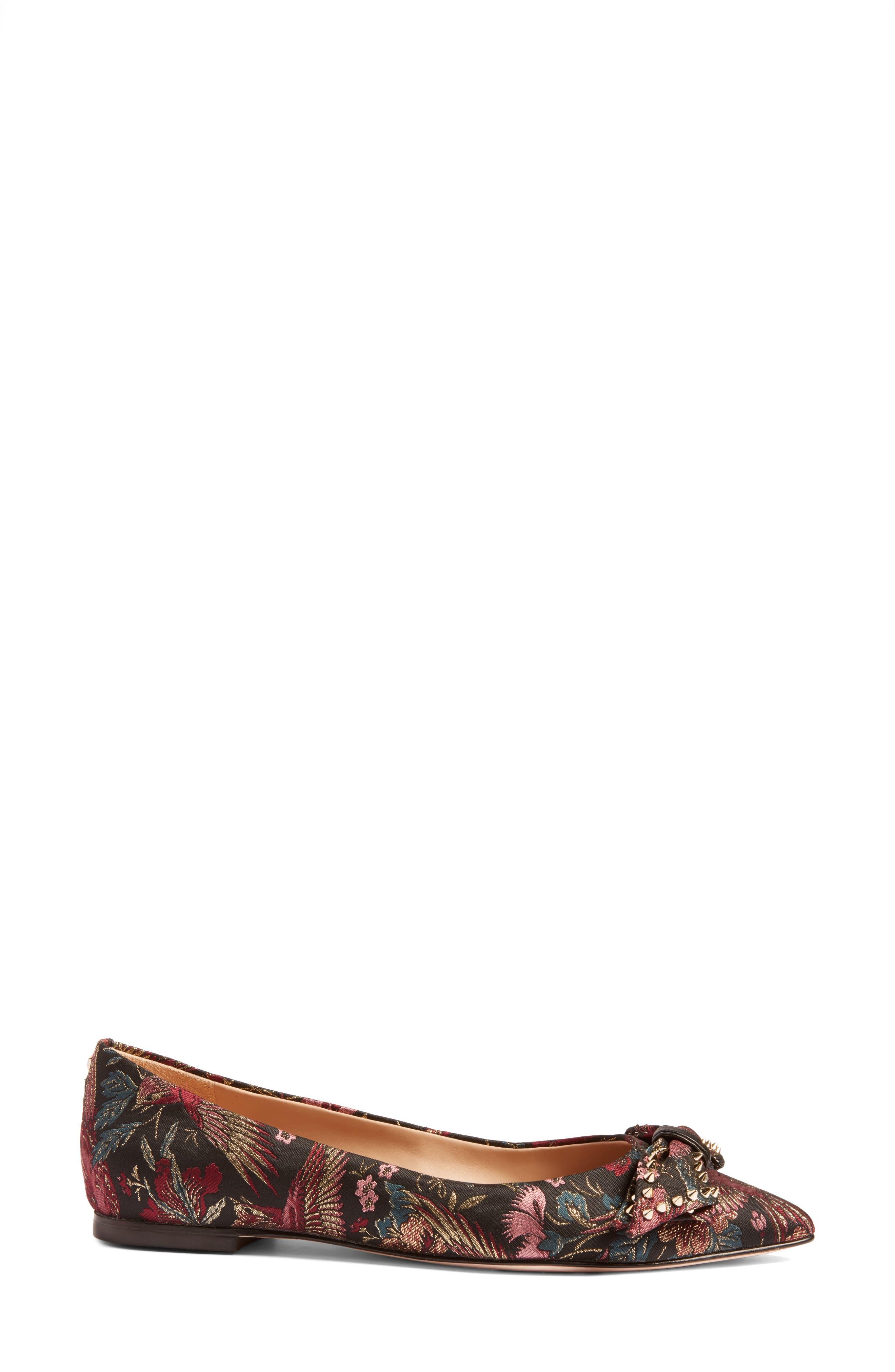 ,                             Raisa Bow Flat,                             Alternate thumbnail 15, color,                             003
