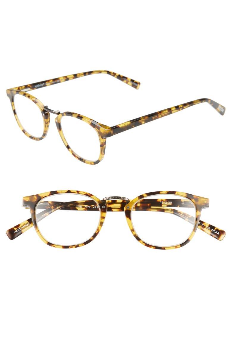 EYEBOBS Hung Jury 46mm Reading Glasses, Main, color, 210