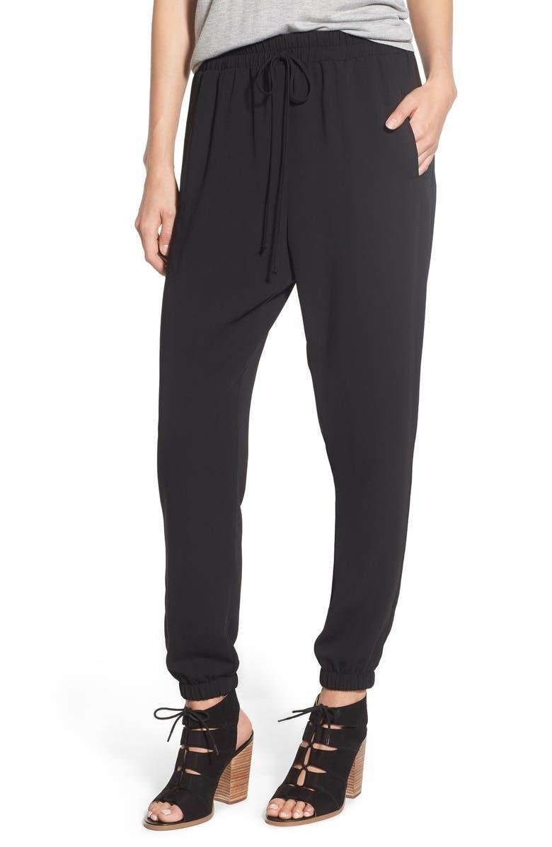 --- Woven Jogger Pants, Main, color, 001