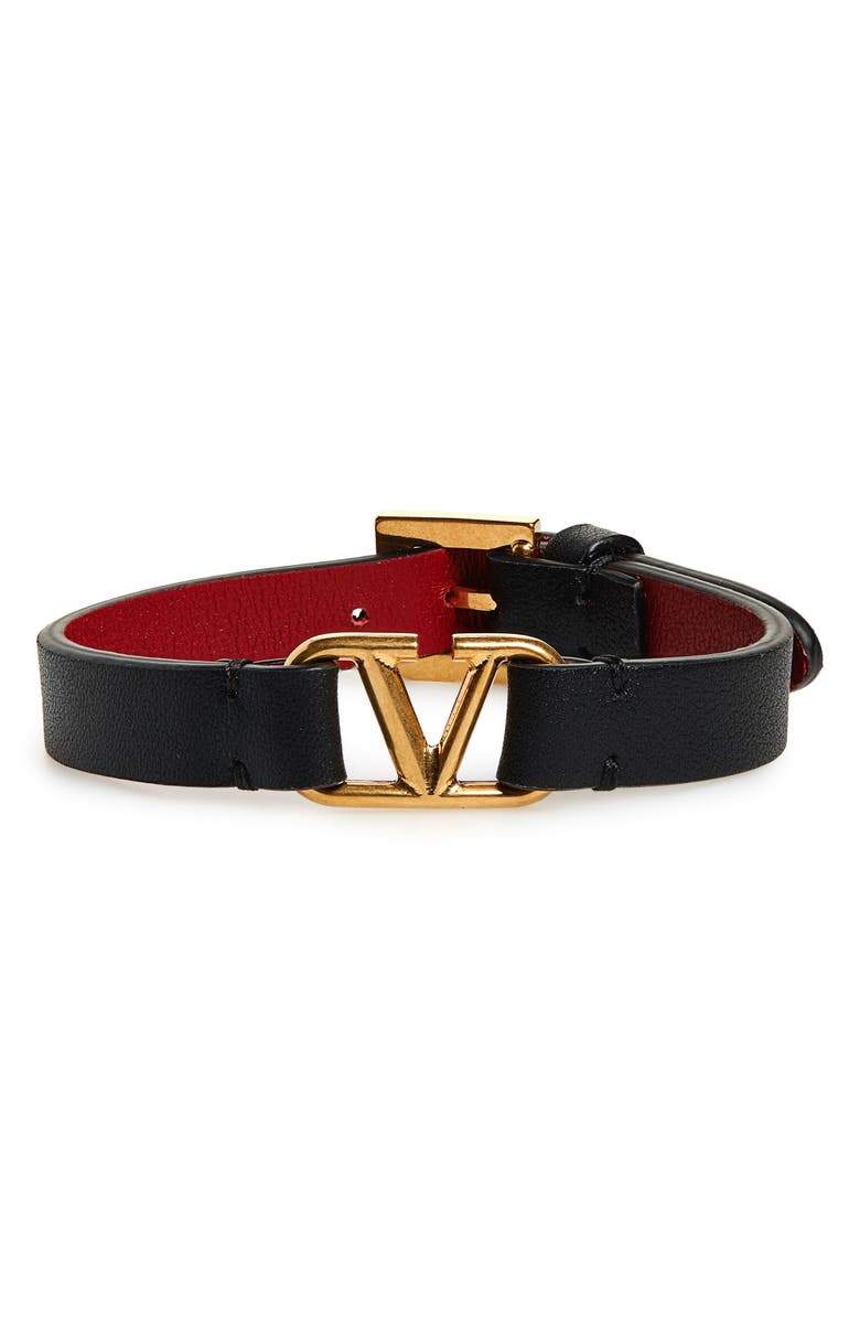 Leather Bracelet by Valentino