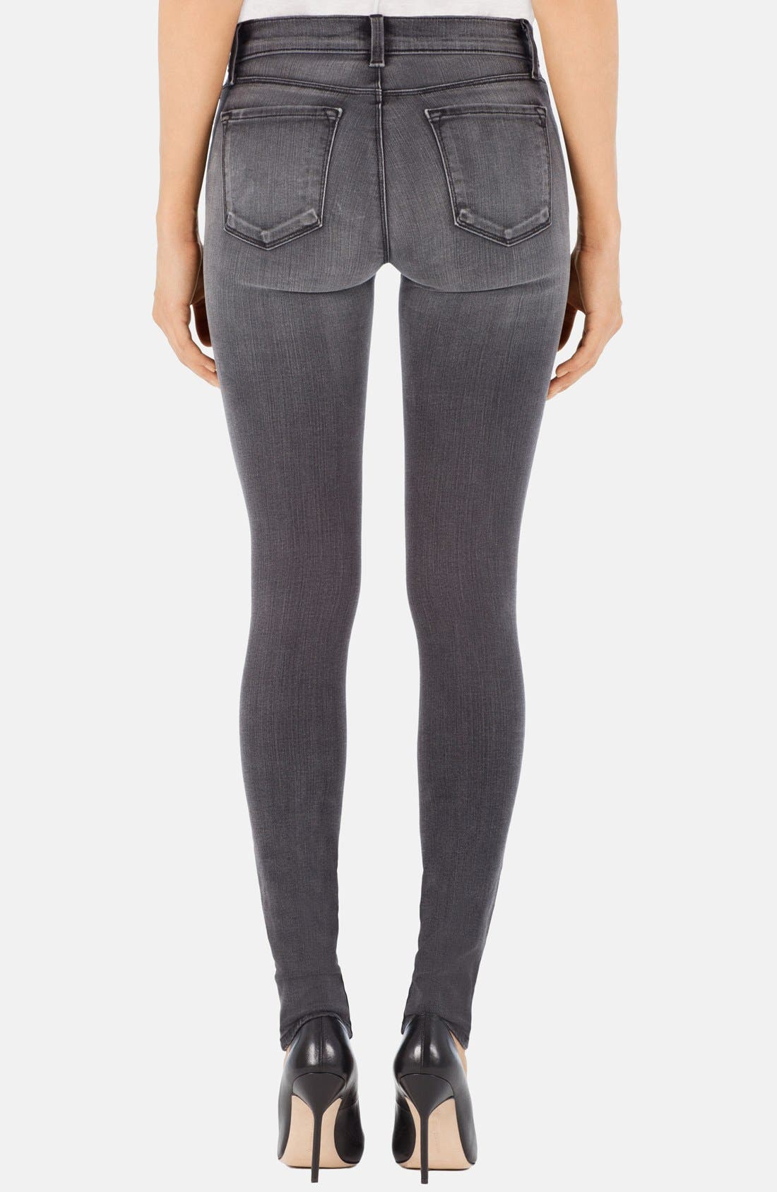 ,                             '620' Mid Rise Skinny Jeans,                             Alternate thumbnail 24, color,                             032
