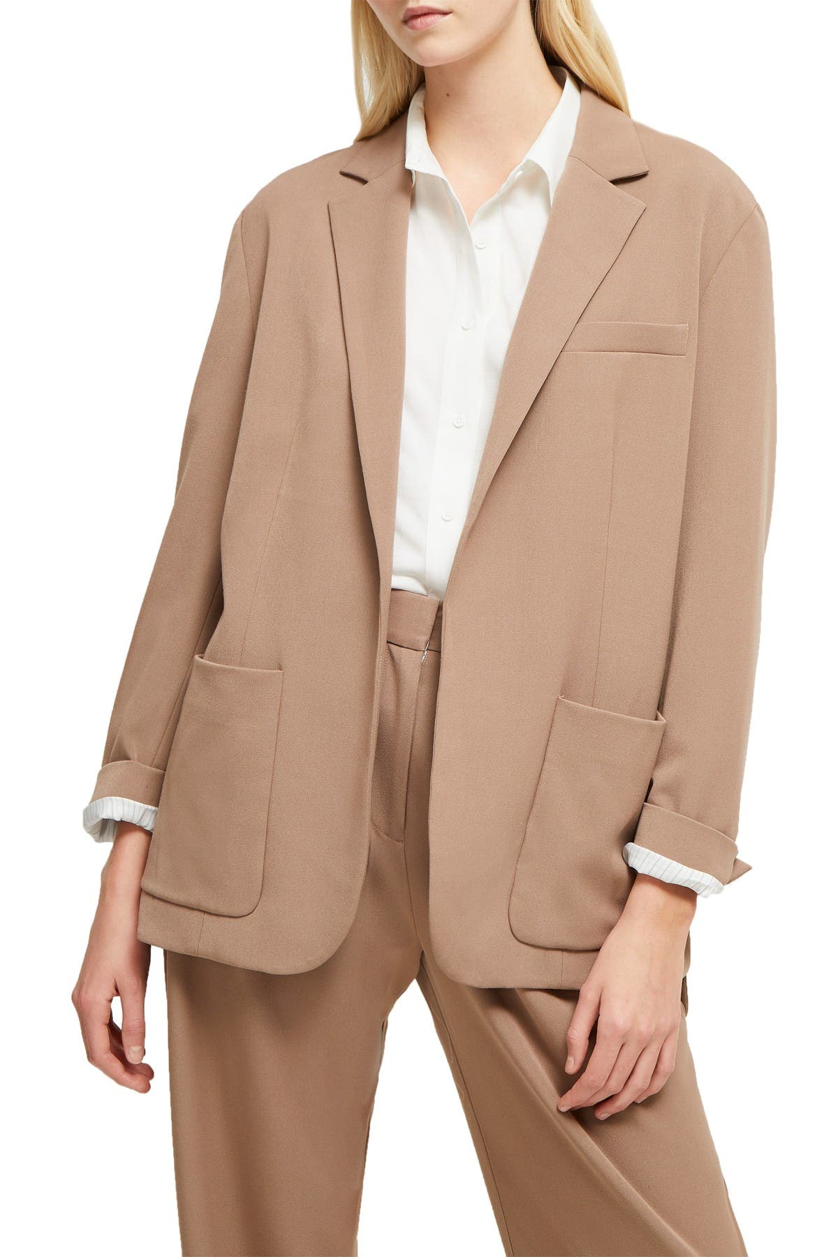 Image of French Connection Amato Suiting Longline Blazer