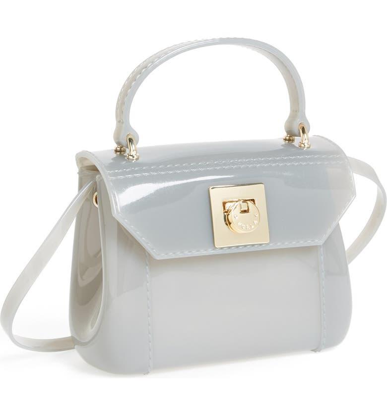 FURLA 'Candy - Mini' Top Handle Crossbody Bag, Main, color, 020