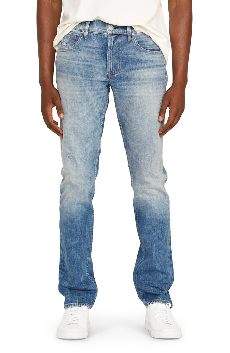 HUDSON JEANS Blake Slim Straight Leg Jeans, Main, color, PLAY OFF