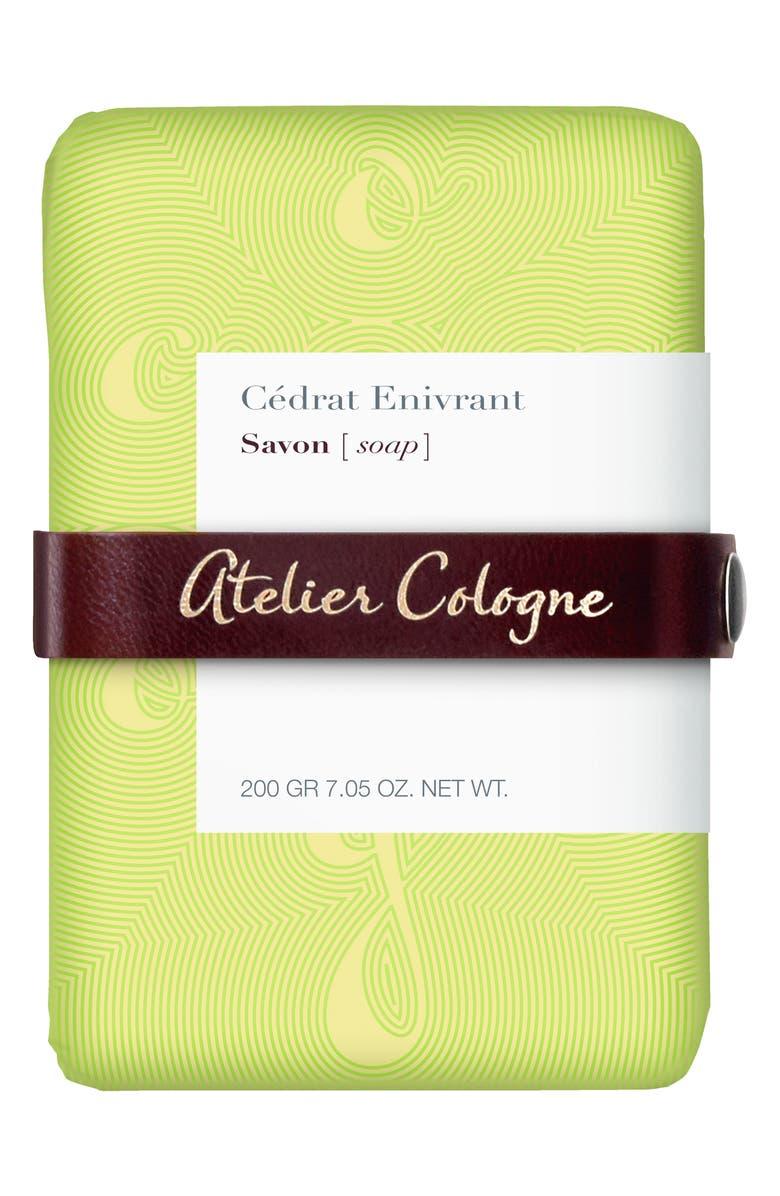 ATELIER COLOGNE Cédrat Envirant Soap, Main, color, 000