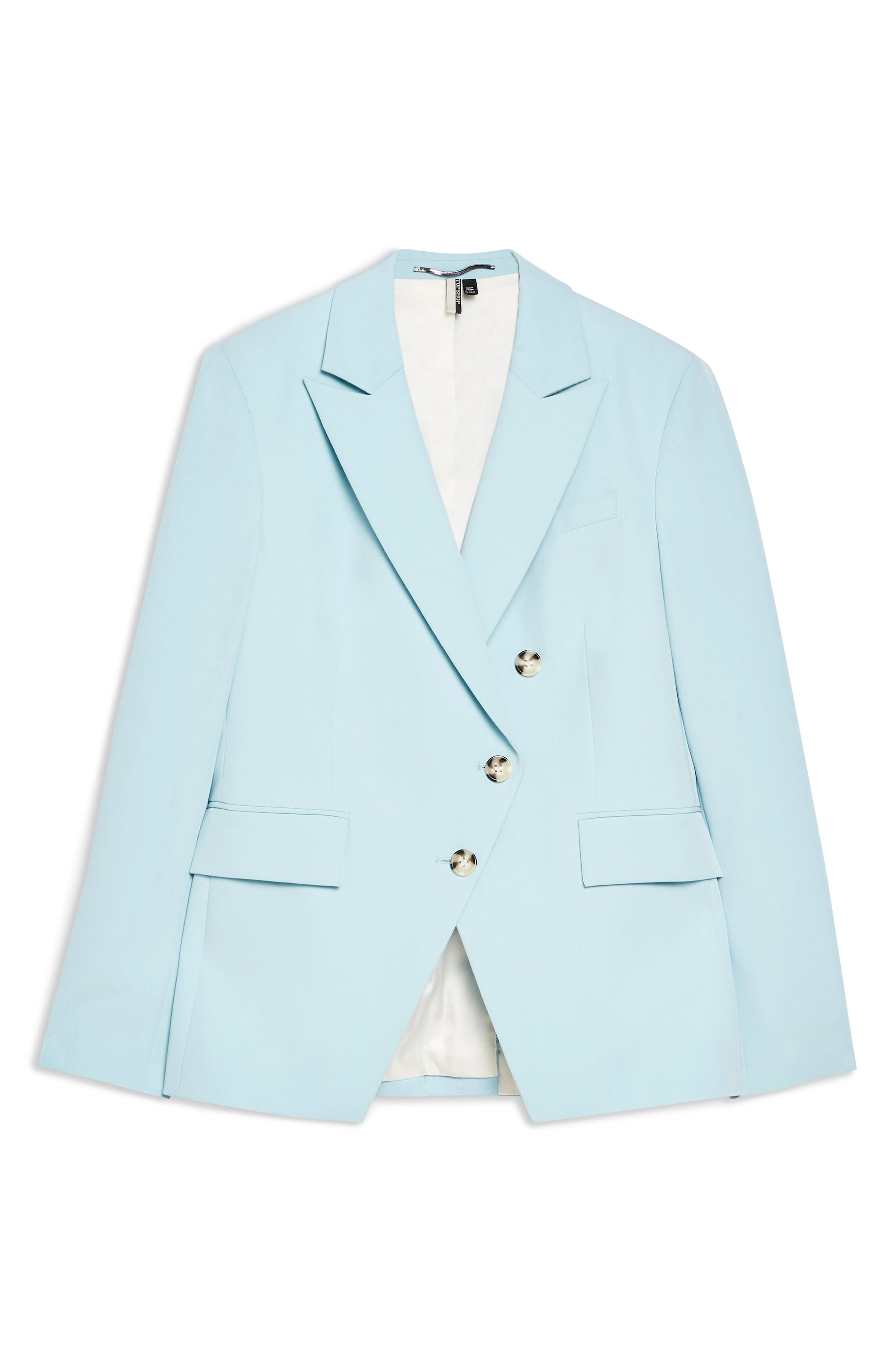 ,                             Nanette Asymmetrical Jacket,                             Alternate thumbnail 3, color,                             LIGHT BLUE