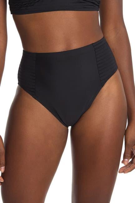 Image of Athena Parallel Lines High Waist Swim Pants