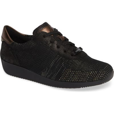 Ara Lilly Sneaker, Black