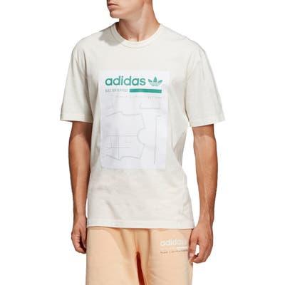 Adidas Originals Kaval Graphic T-Shirt, White