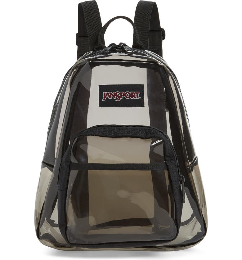 JANSPORT Half Pint FX Clear Mini Backpack, Main, color, 001
