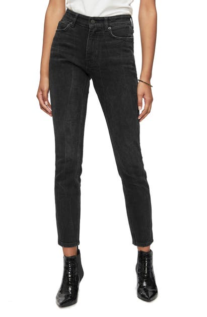 Anine Bing Jeans JAGGER HIGH WAIST ANKLE JEANS