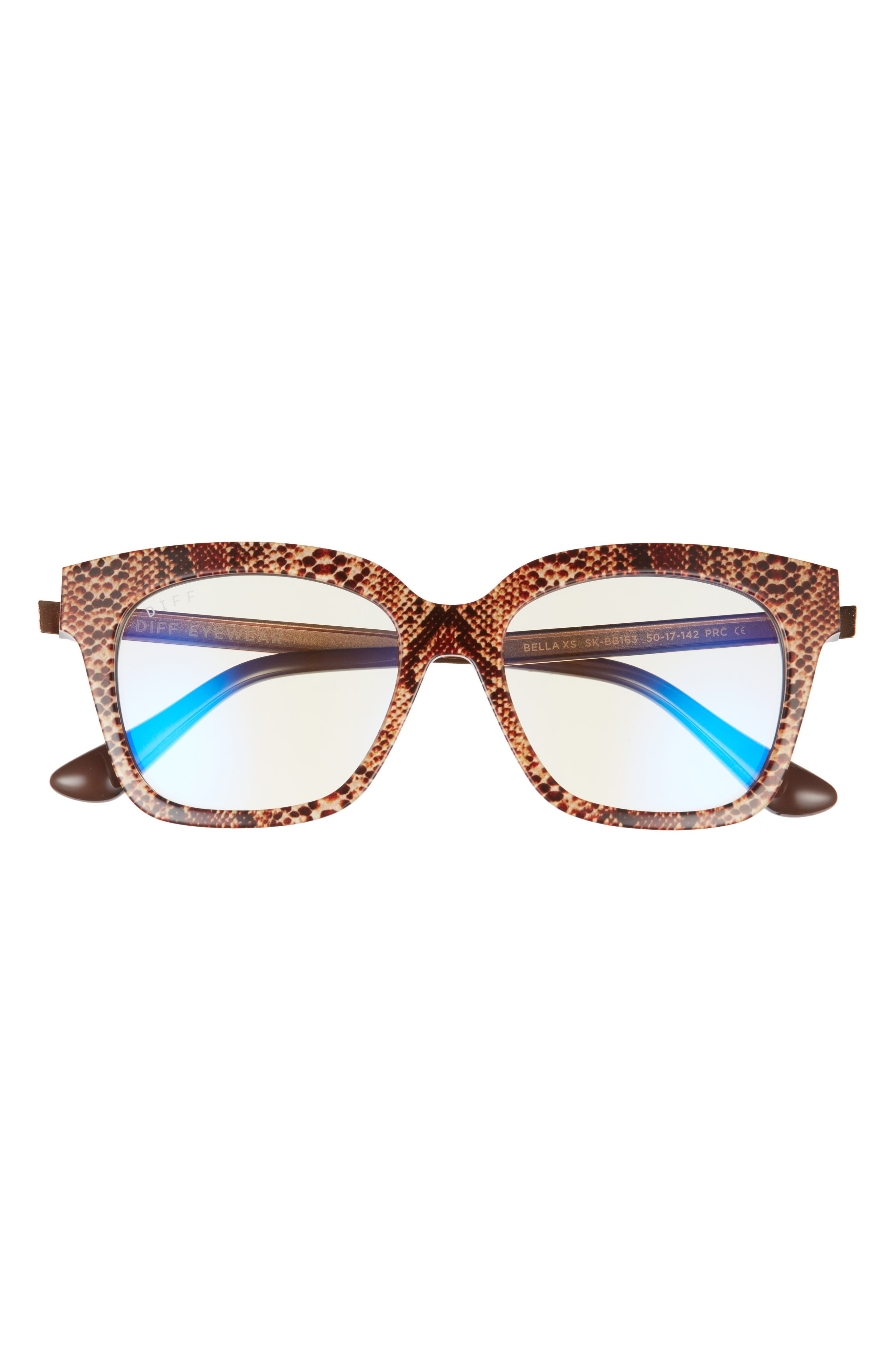 Bella 50mm Round Blue Light Blocking Glasses