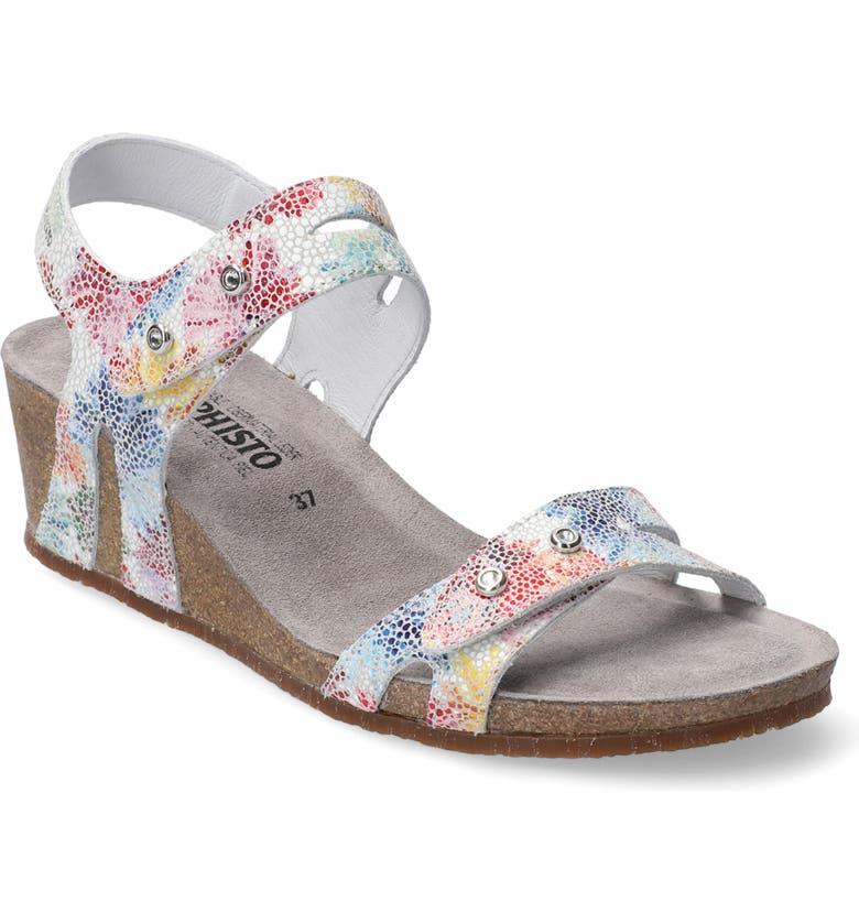 MEPHISTO 'Minoa' Wedge Sandal, Main, color, 040