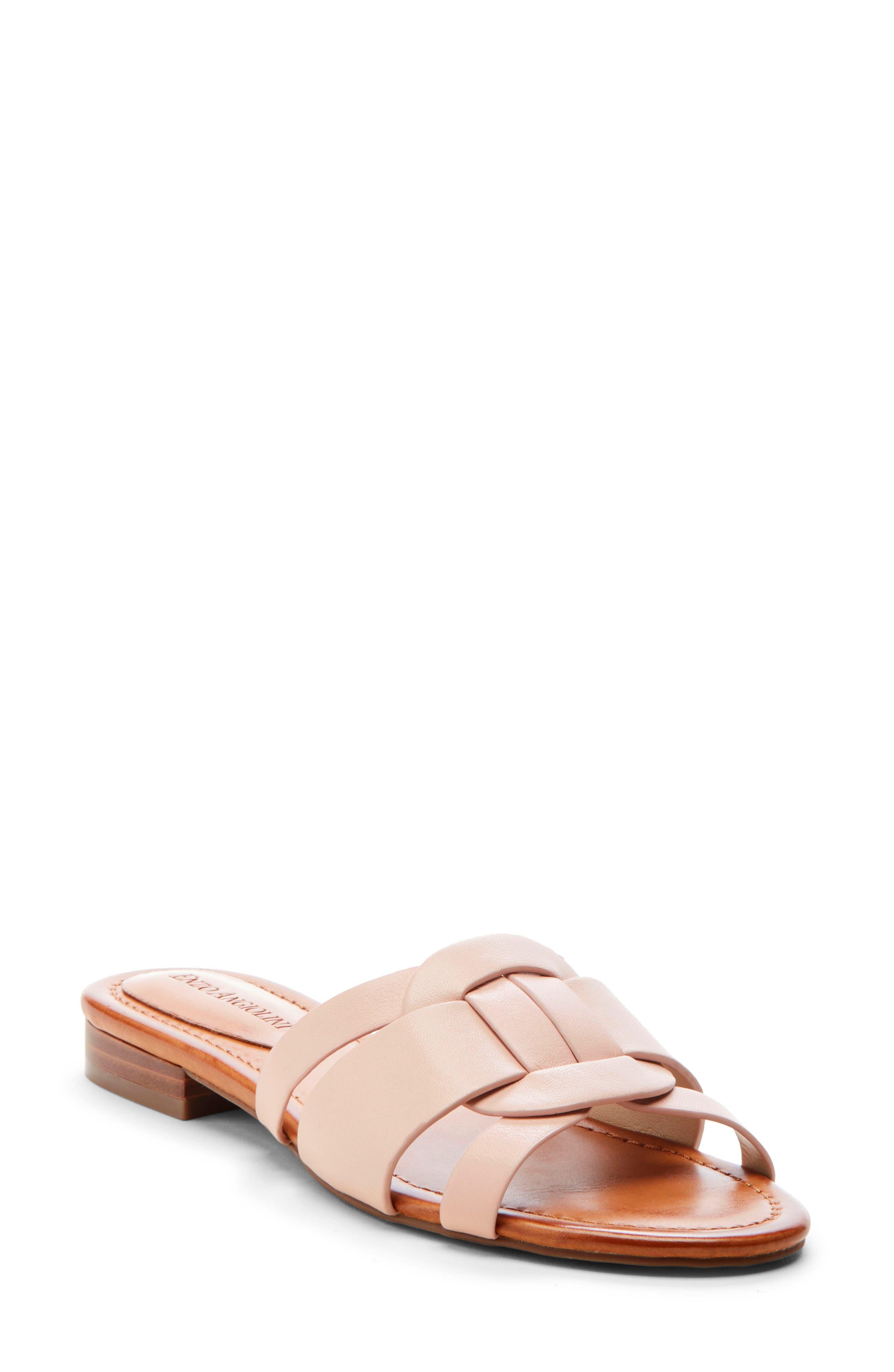 Enzo Angiolini Golda Slide Sandal, Pink