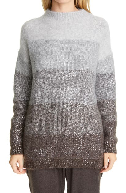 Fabiana Filippi OMBRE WOOL BLEND SWEATER