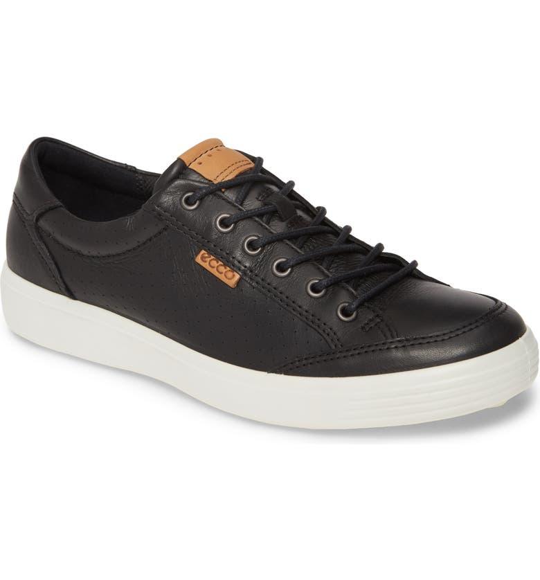 ECCO Soft 7 Light Sneaker, Main, color, 01001BLACK