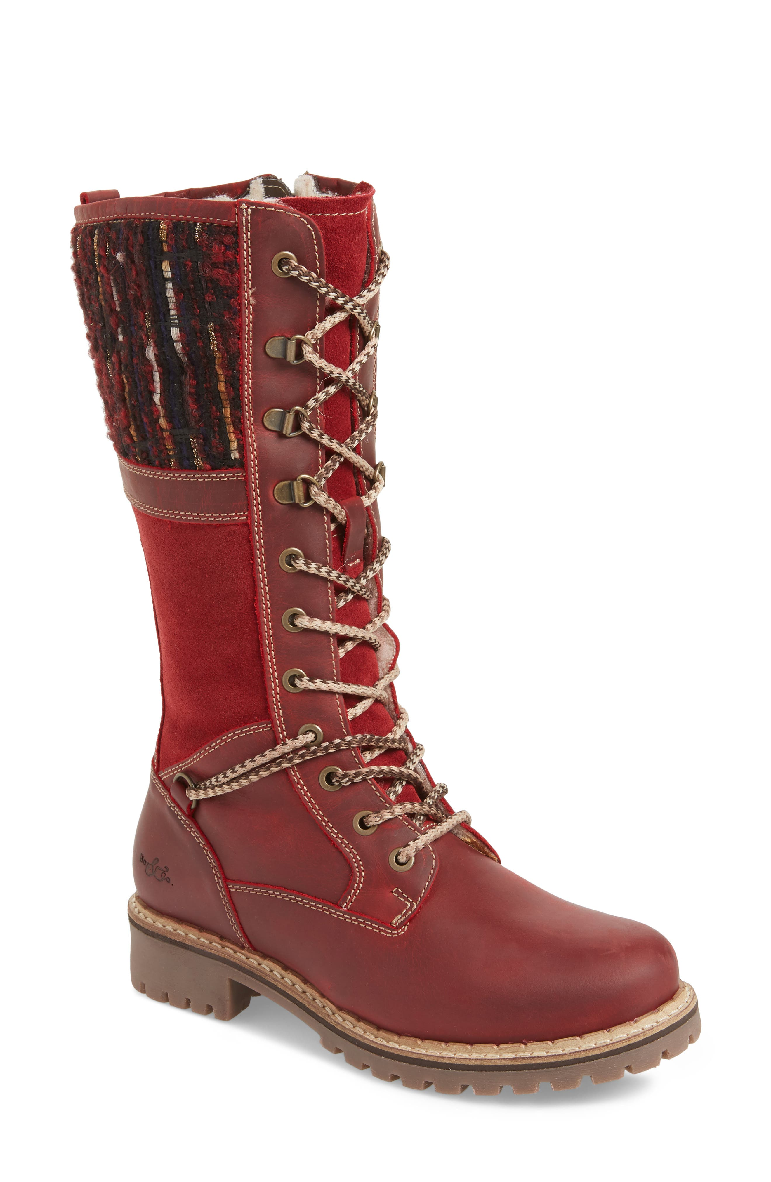 Bos. & Co. Holland Waterproof Boot - Red