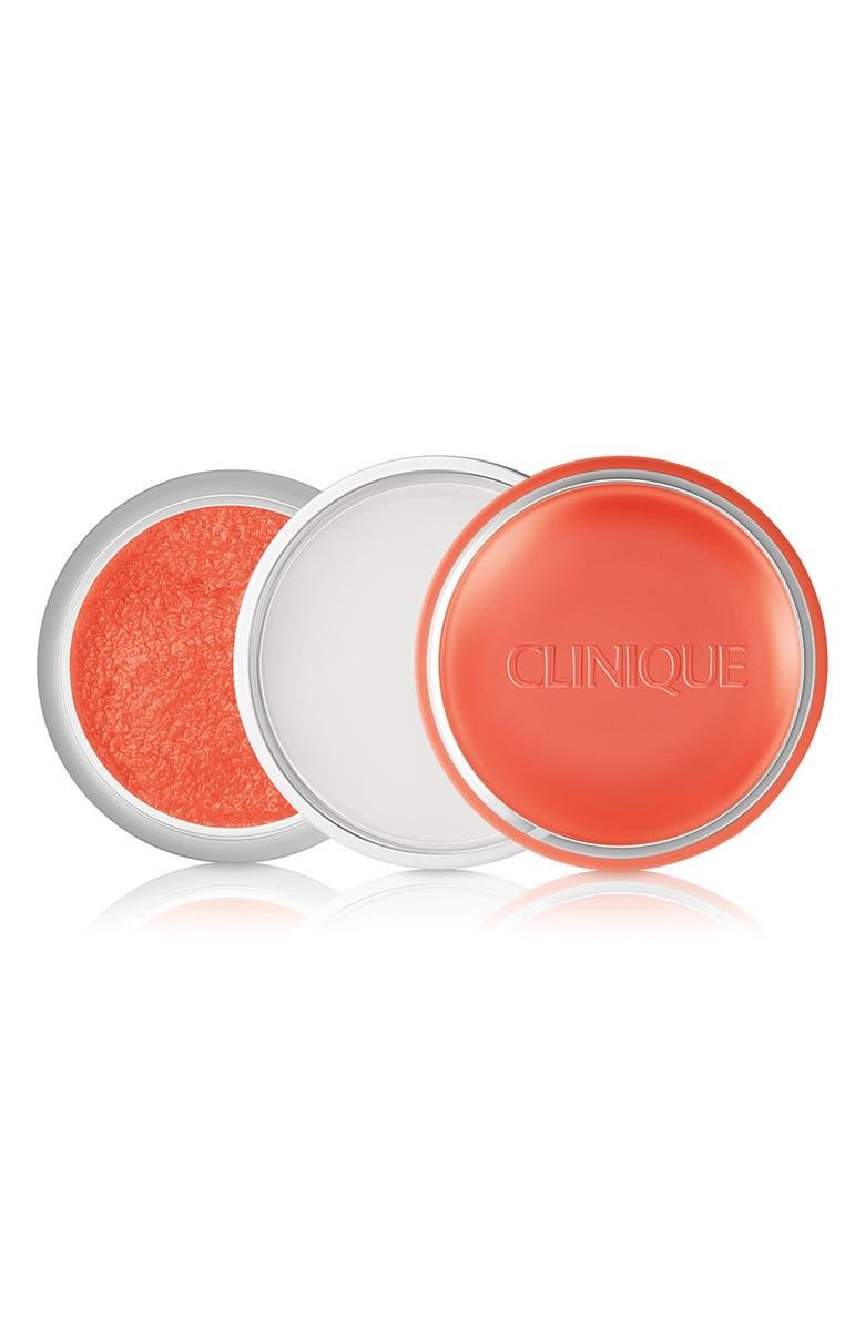 CLINIQUE 'Sweet Pots' Sugar Scrub & Lip Balm, Main, color, 800