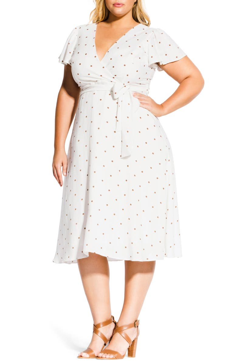 City Chic Sweet Doll Dress Plus Size