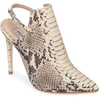 Steve Madden Daily Slingback Pointed Toe Pump, Brown