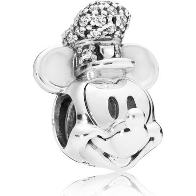 Pandora Disney Shimmering Steamboat Willie Portrait Charm