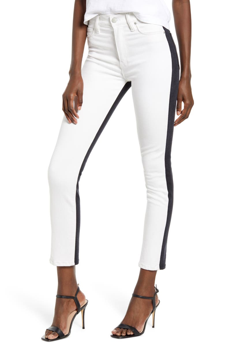 HUDSON JEANS Barbara - Vice Versa High Waist Ankle Super Skinny Jeans, Main, color, TOTAL ECLIPSE