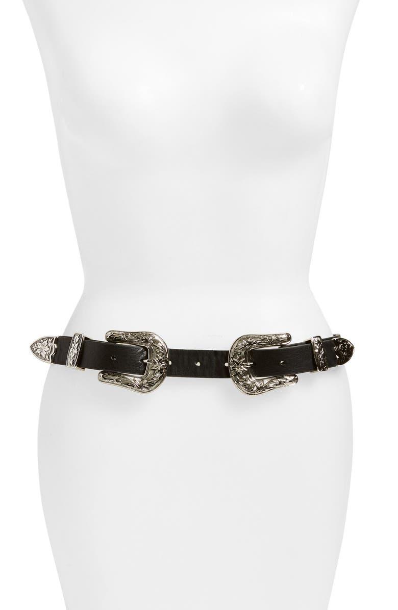 B-LOW THE BELT 'Baby BriBri' Hip Belt, Main, color, 001
