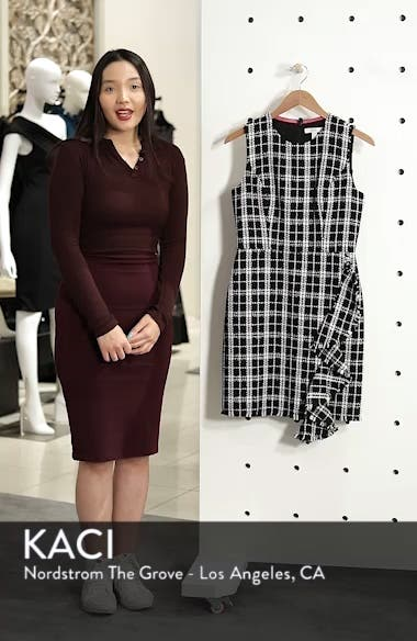 Tweed Sheath Dress, sales video thumbnail
