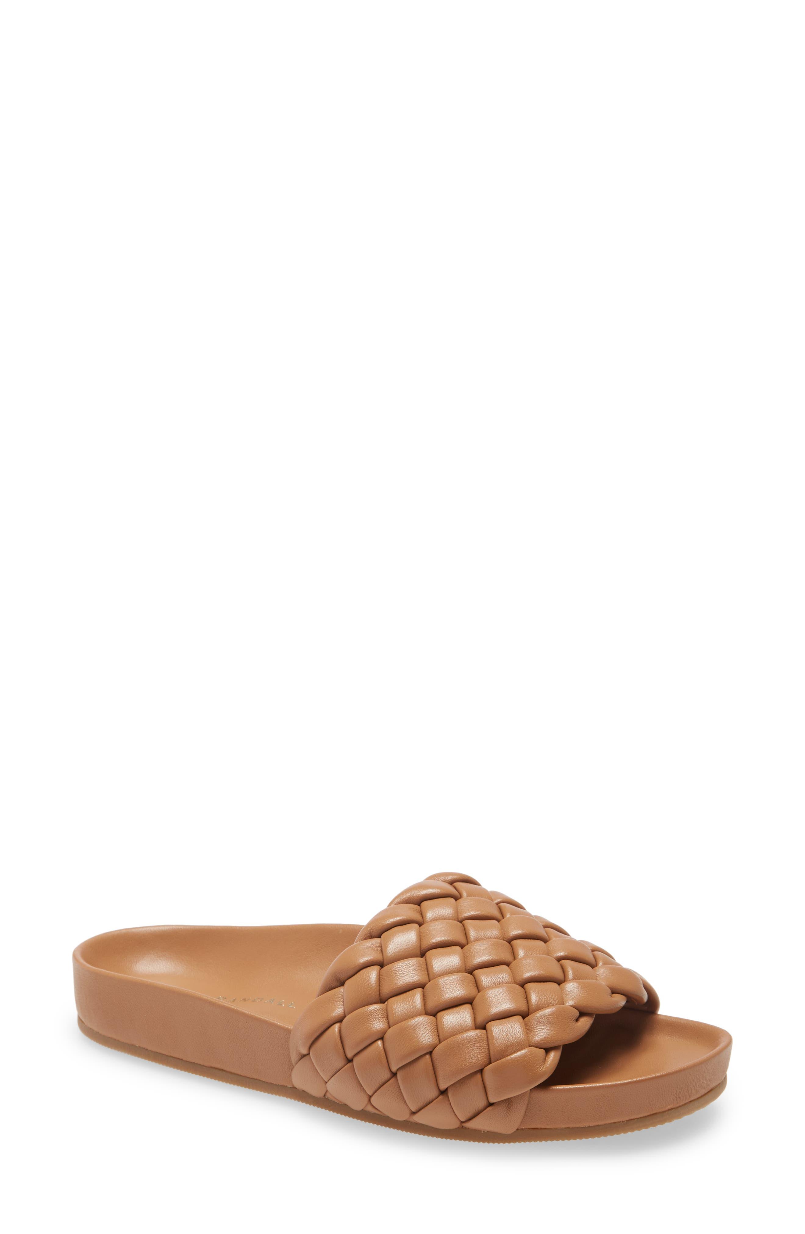 Sonnie Woven Slide Sandal