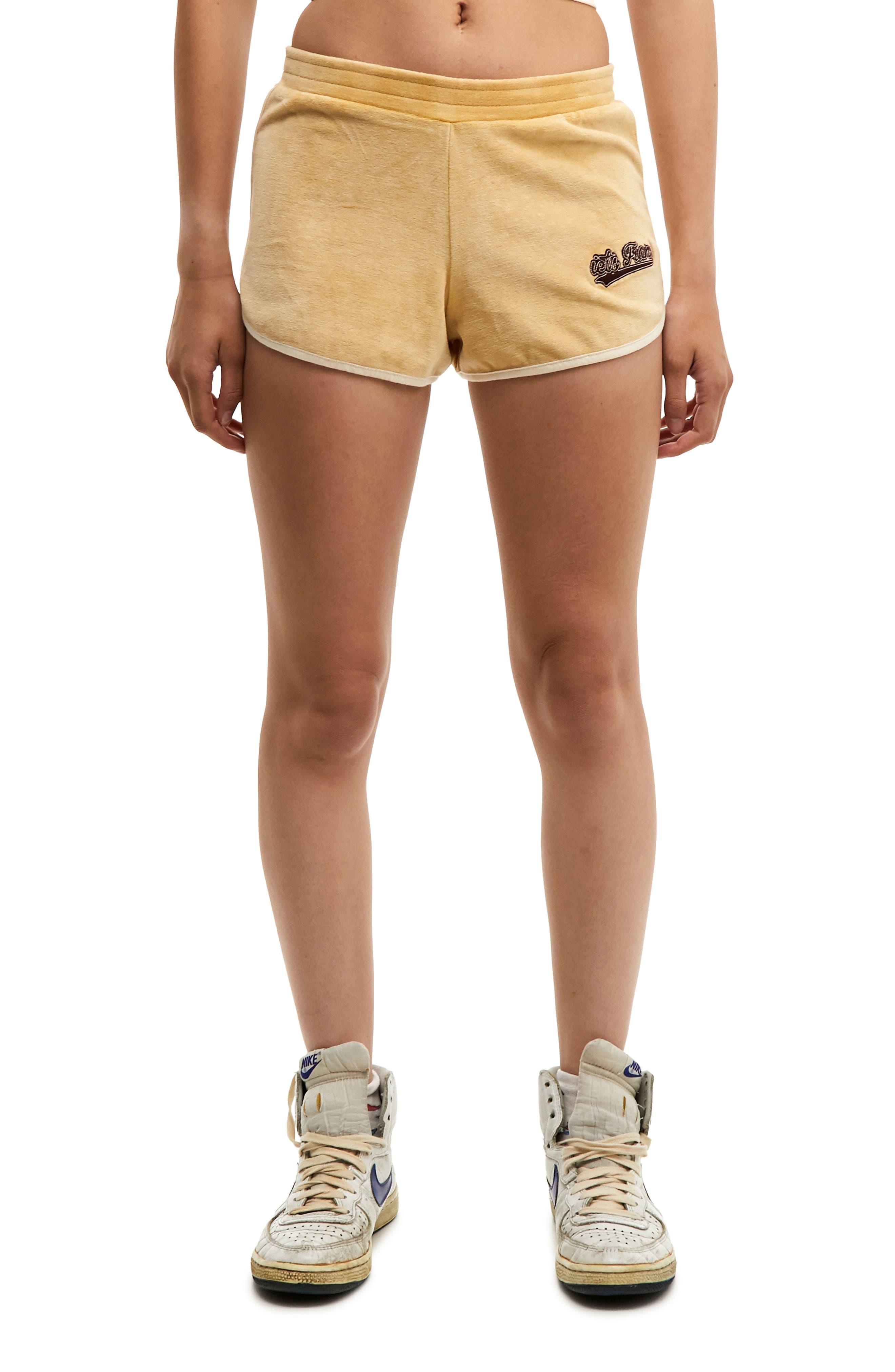 Velour Runner Shorts