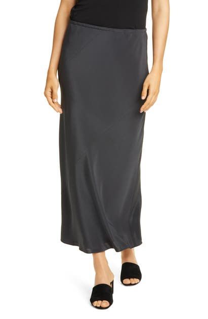 Eileen Fisher Skirts BIAS CUT SILK MAXI SKIRT