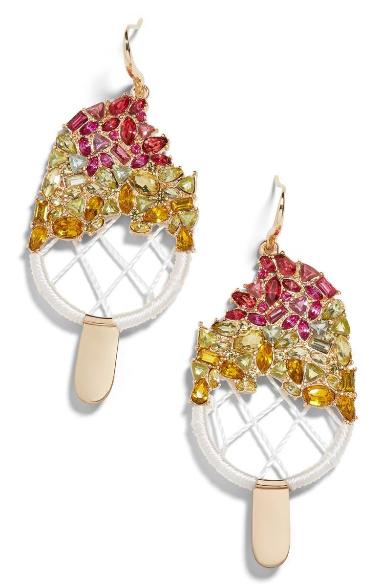 BAUBLEBAR Sorbet Drop Earrings, Main, color, GOLD MULTI