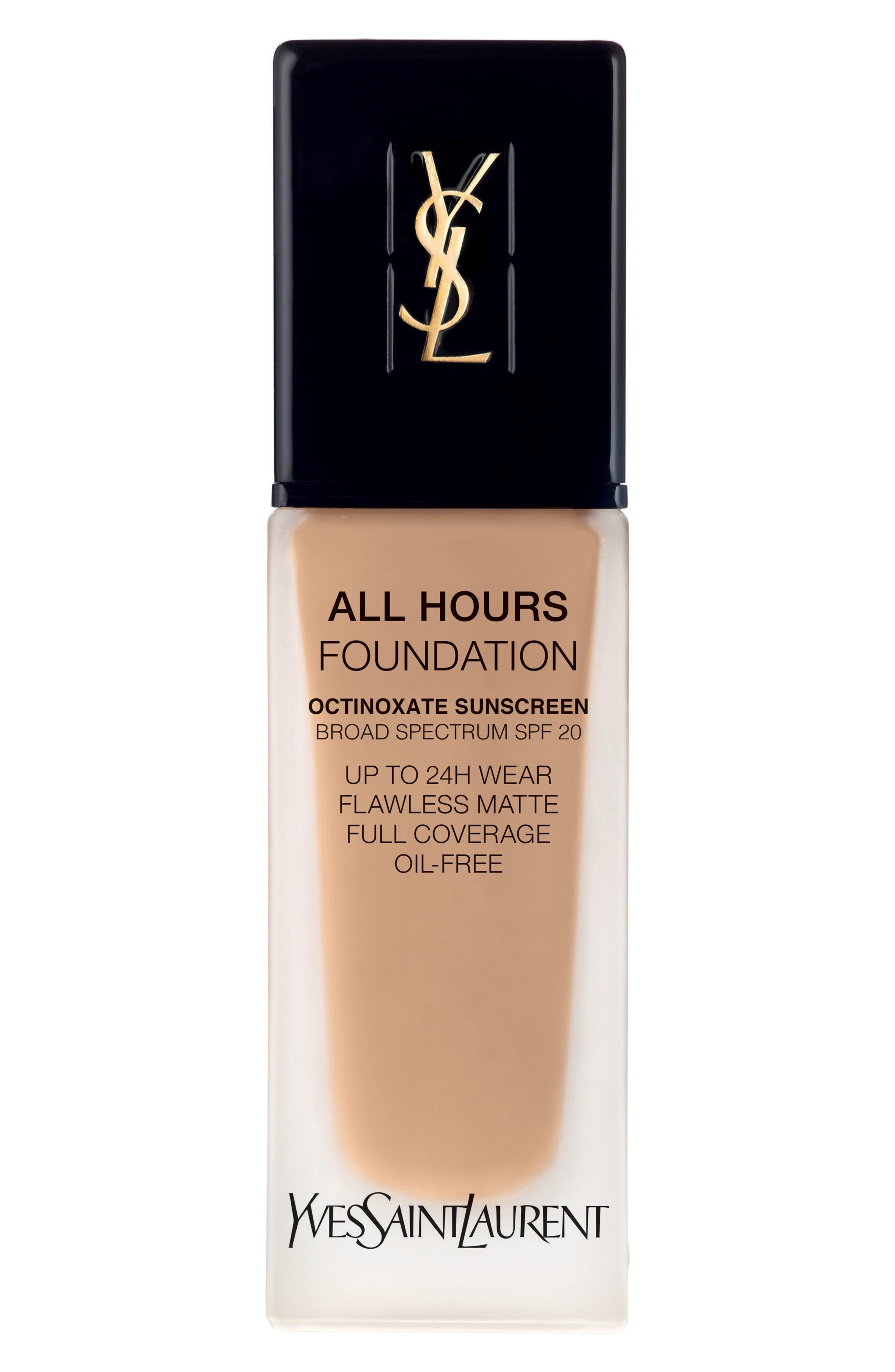 Yves Saint Laurent All Hours Full Coverage Matte Foundation Spf 20 - Bd40 Warm Sand