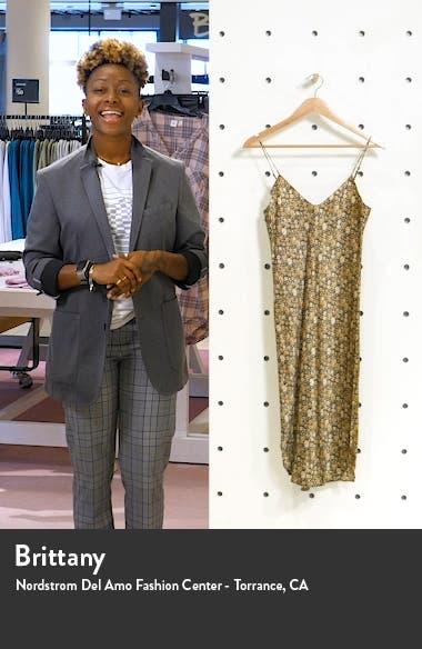 Print Silk Cami Dress, sales video thumbnail