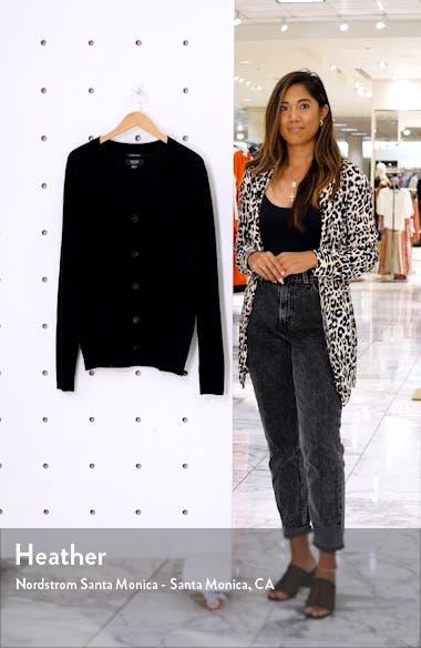 Cashmere Button Front Cardigan, sales video thumbnail