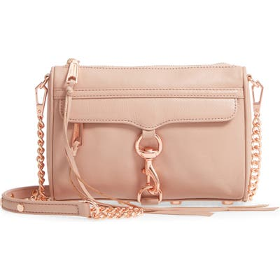 Rebecca Minkoff Mini MAC Convertible Crossbody Bag - Brown