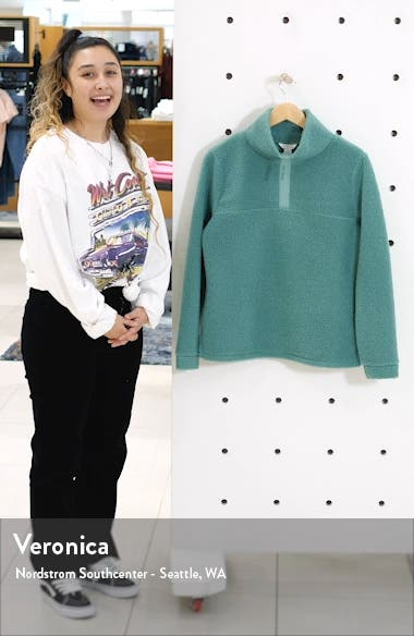 Quarter Zip Fleece Pullover, sales video thumbnail