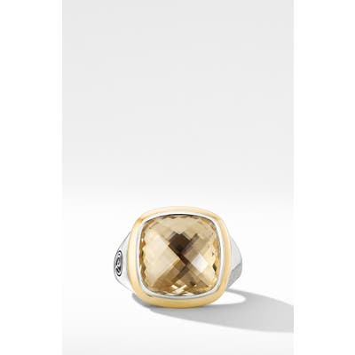 David Yurman Albion Ring With 18K Gold And Semiprecious Stone