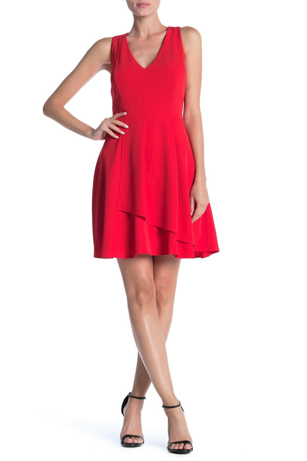 Image of 19 Cooper Sleeveless V-Neck Dress