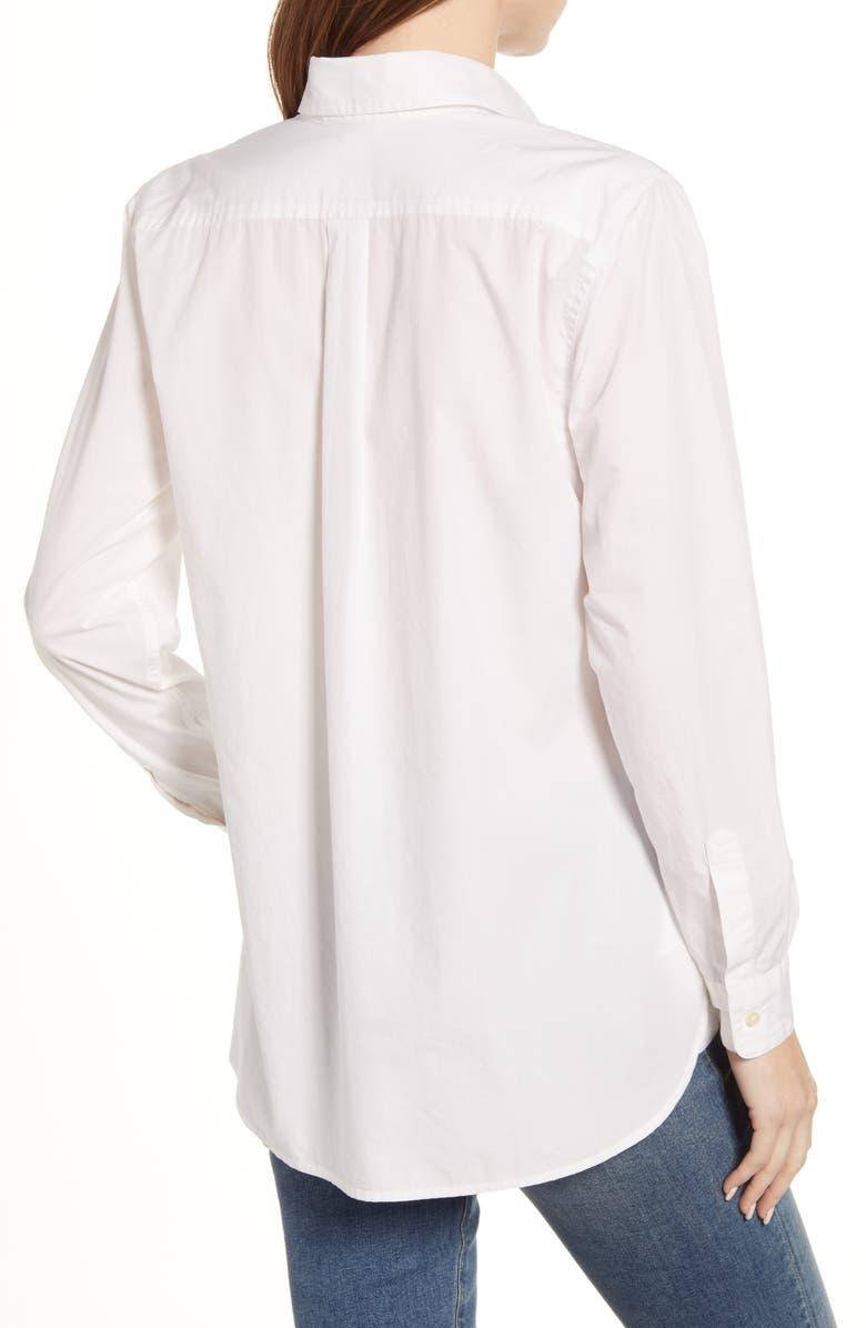 LUCKY BRAND Relaxed Shirt, Alternate, color, LUCKY WHITE