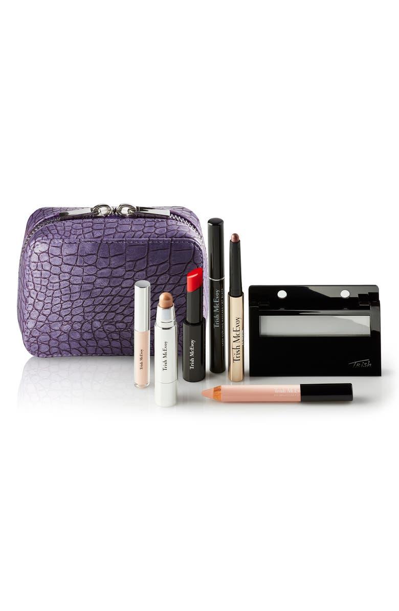 TRISH MCEVOY Mini Makeup Planner<sup>®</sup> Instant Glam Collection, Main, color, NO COLOR