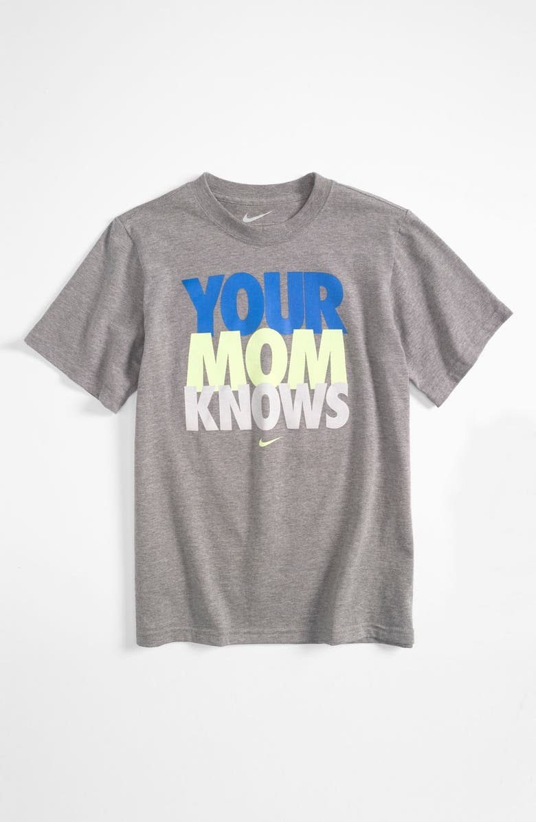 buying cheap 50% off factory authentic 'Your Mom Knows' T-Shirt
