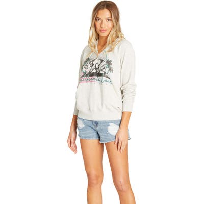 Billabong Days Off Graphic Hoodie, Grey
