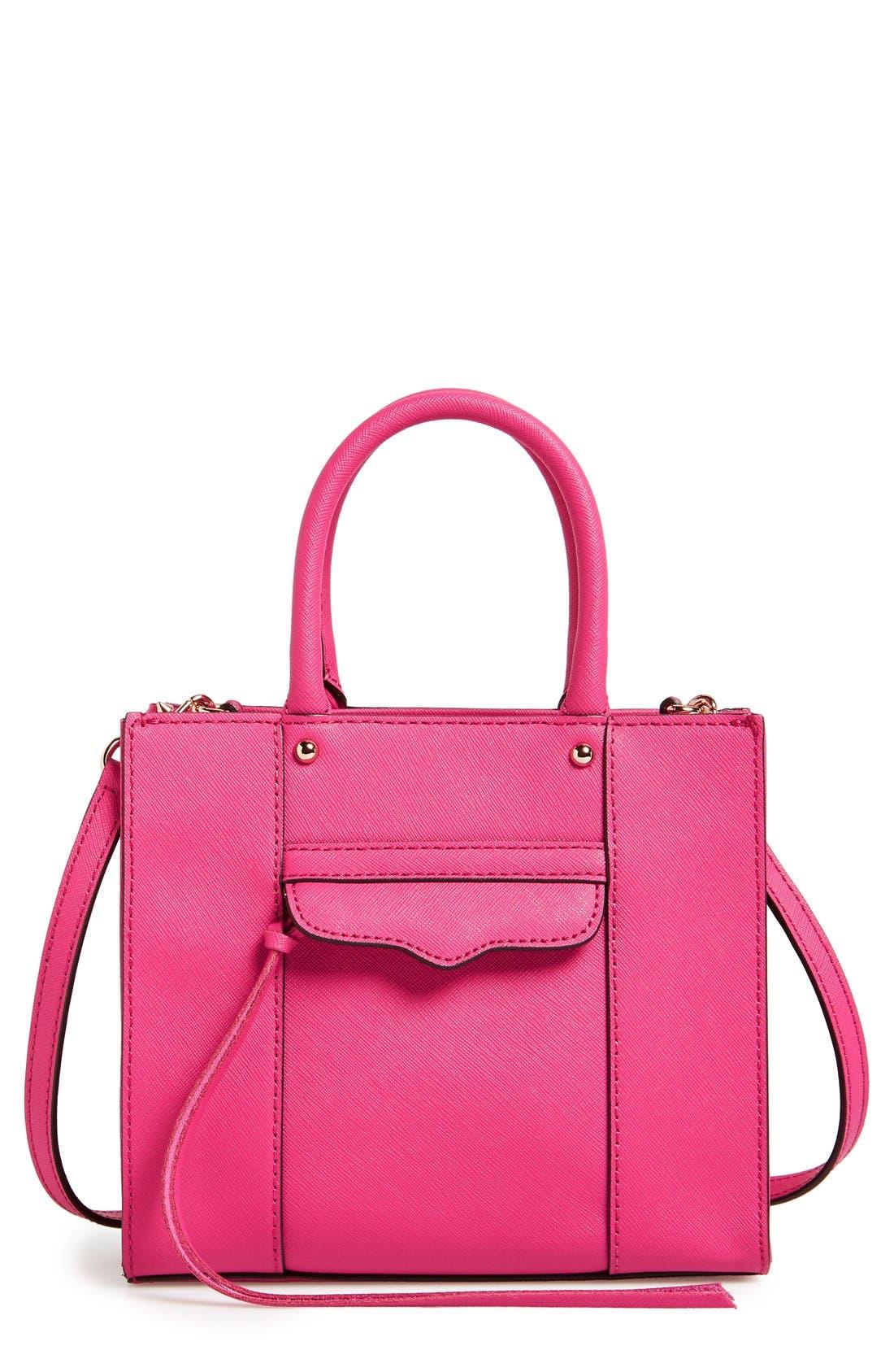 ,                             'Mini MAB Tote' Crossbody Bag,                             Main thumbnail 125, color,                             657