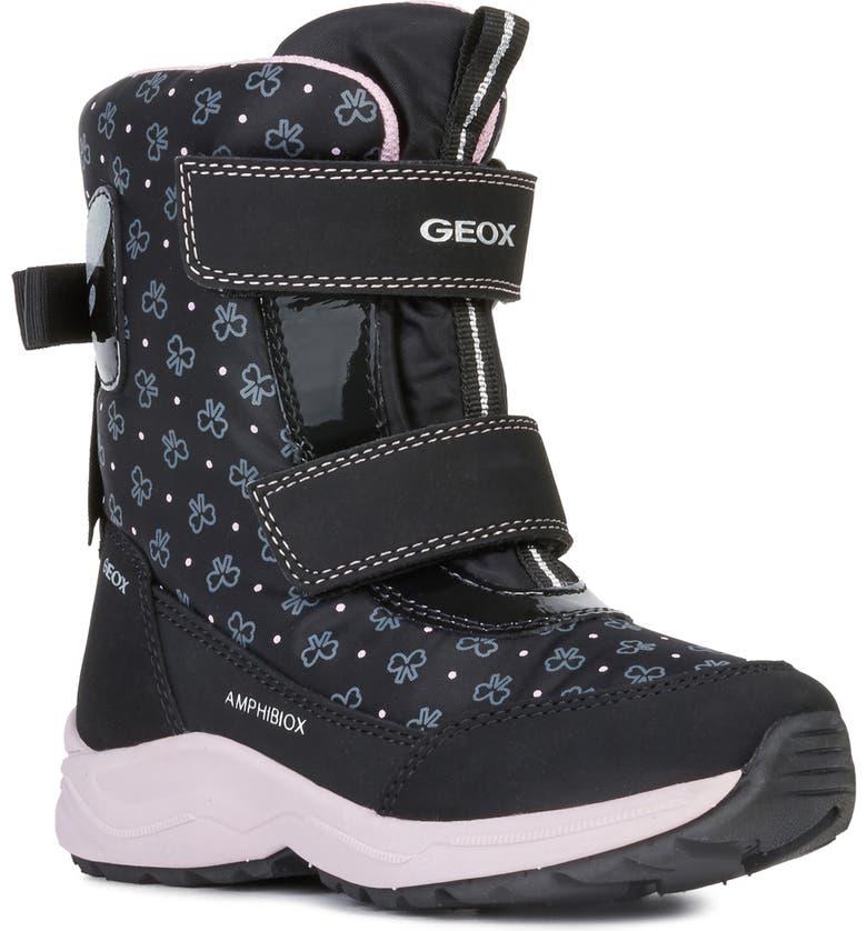 GEOX Kuray 1 Boot, Main, color, BLACK
