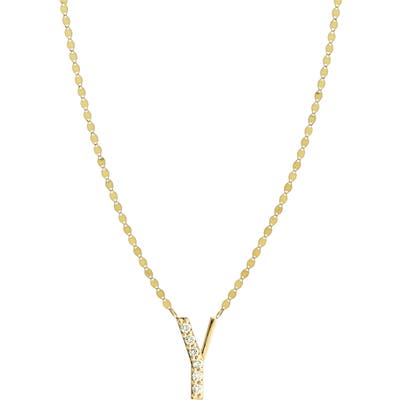 Lana Jewelry Initial Pendant Necklace