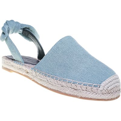Cupcakes And Cashmere Jamille Flat- Blue