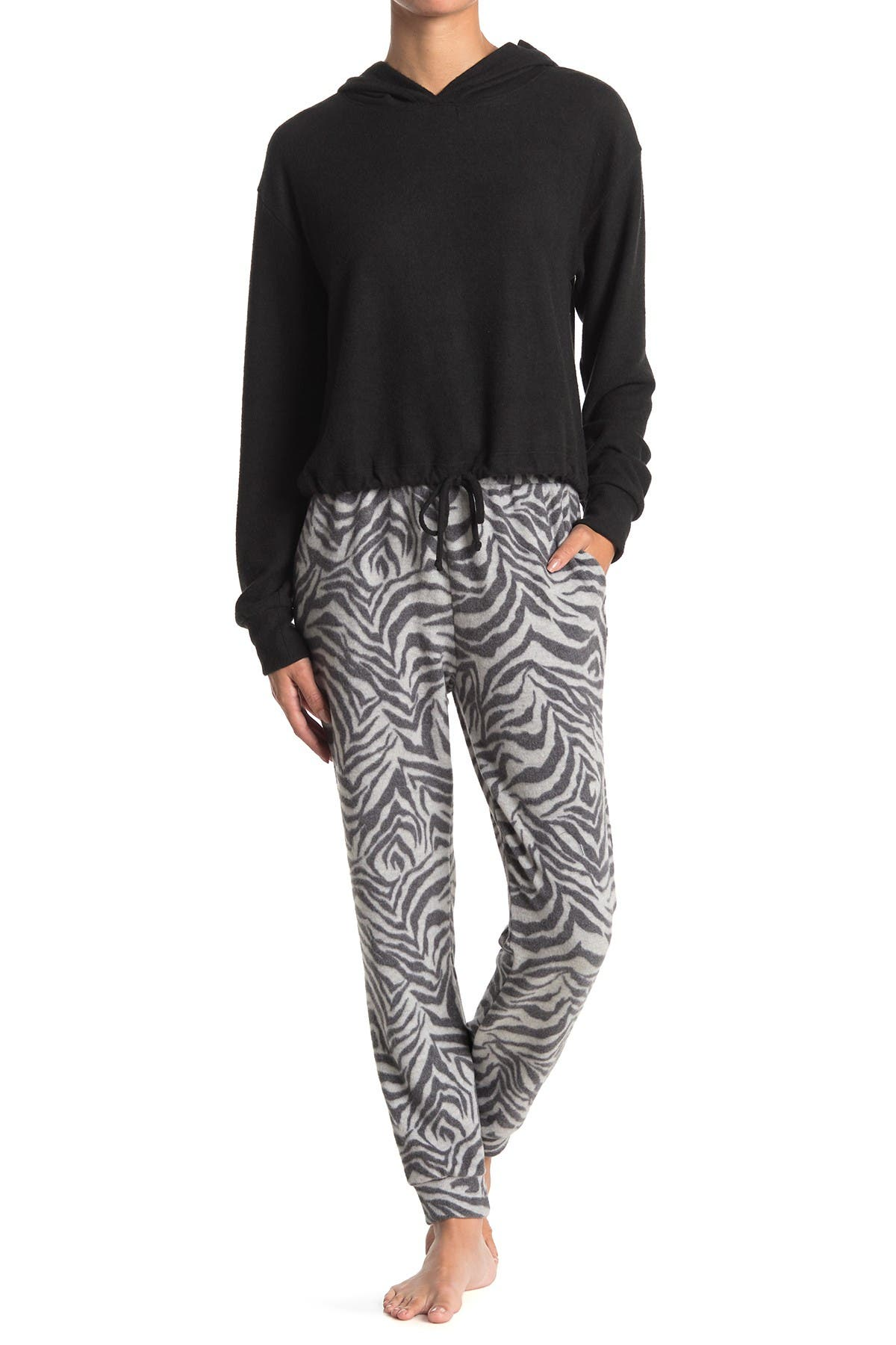 Image of Socialite Brushed Knit Lounge Joggers
