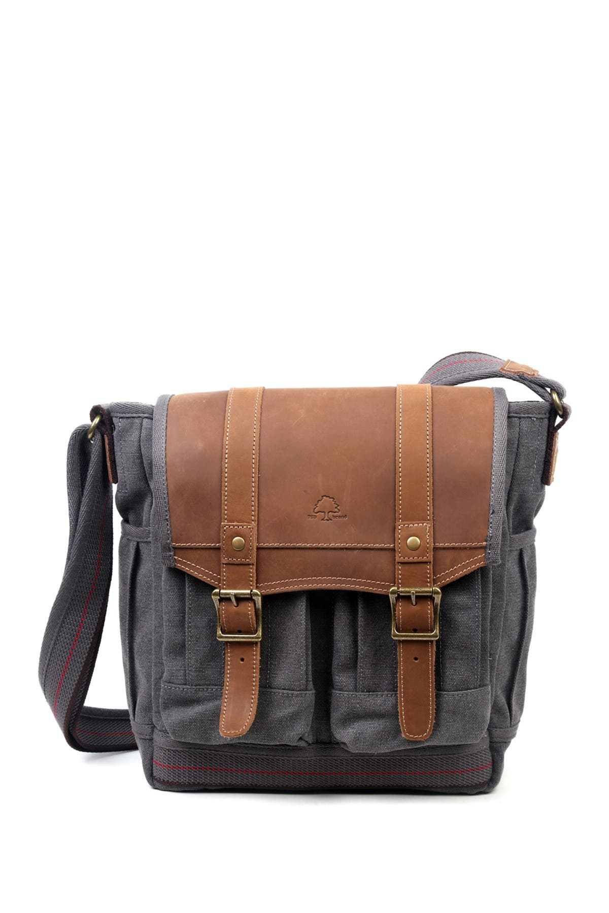 Image of TSD Turtle Ridge 4-Pocket Canvas Crossbody Bag