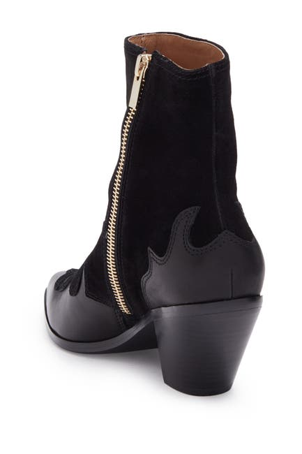 Image of Joie Rafa Suede Western Ankle Boot